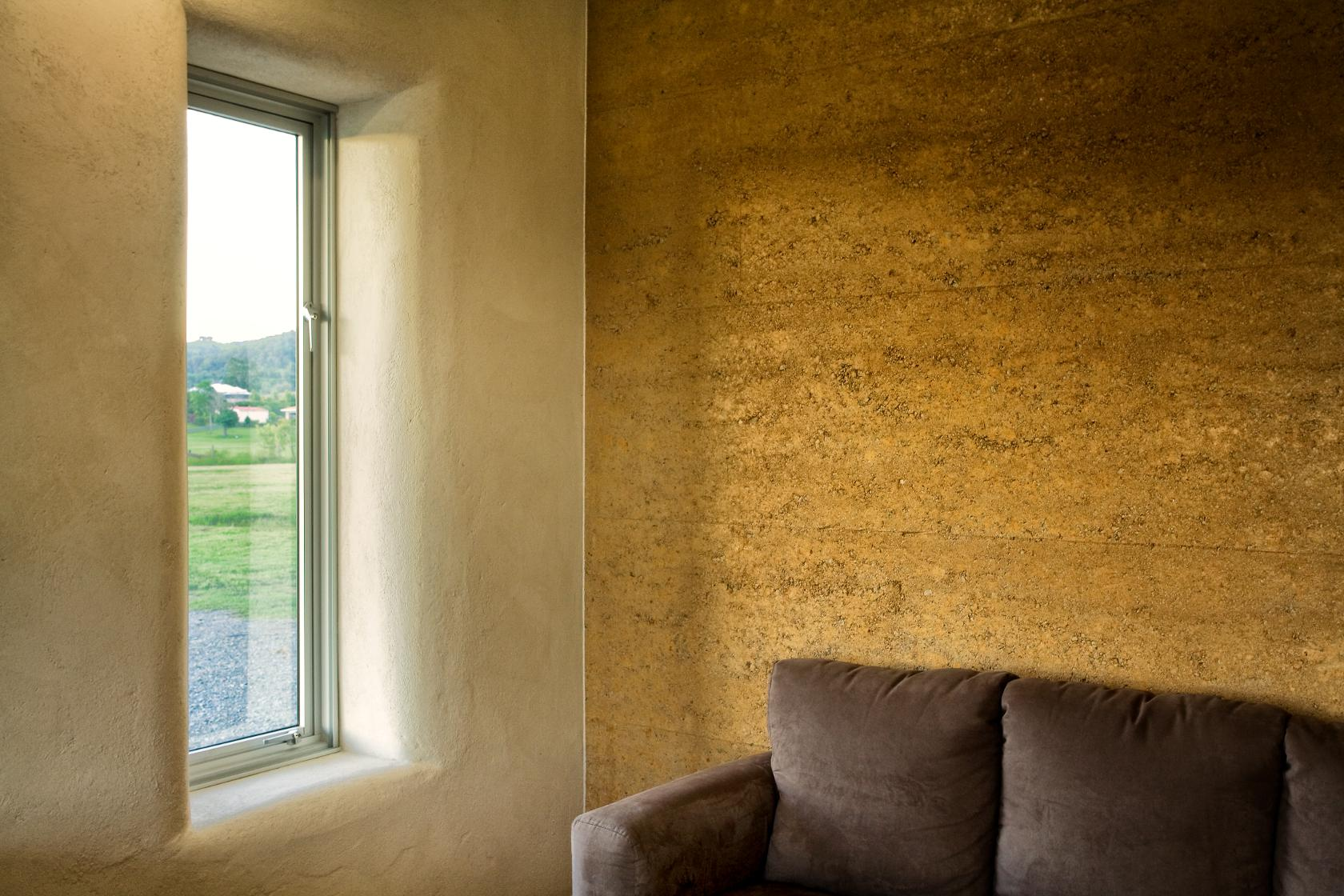 Rammed Earth And Straw Bale House Sunshine Coast Architects